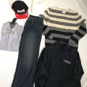 Lot of 6 items of men's clothes size S